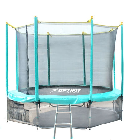 Батут Optifit Like Green 14ft (4,27м)