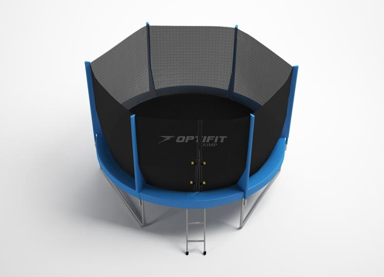 Батут Optifit Jump 6ft синий (1,83м)