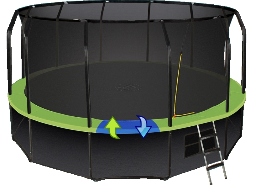 Батут Hasttings Sky Double 16ft (4,88 м)